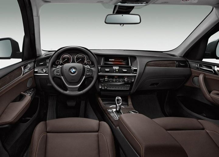 2015 BMW X3 Interior Front Cabin Dashboard