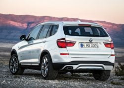 2015 BMW X3 Rear Left Quarter