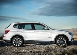 2015 BMW X3 Right Side Profile
