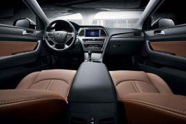2015 Hyundai Sonata Interior Front Cabin