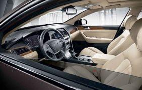 2015 Hyundai Sonata Interior Front Cabin Driver Side View