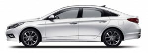 2015 Hyundai Sonata Left Side Profile