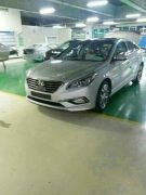 2015 Hyundai Sonata Spy Shot Front Left Quarter