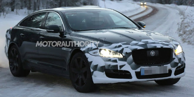 2015 Jaguar XJ Facelift Featured Image