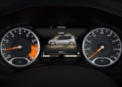 2015 Jeep Renegade Interior Instrument Cluster