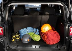 2015 Jeep Renegade Interior Luggage Compartment