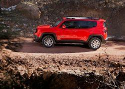 2015 Jeep Renegade Left Side Profile