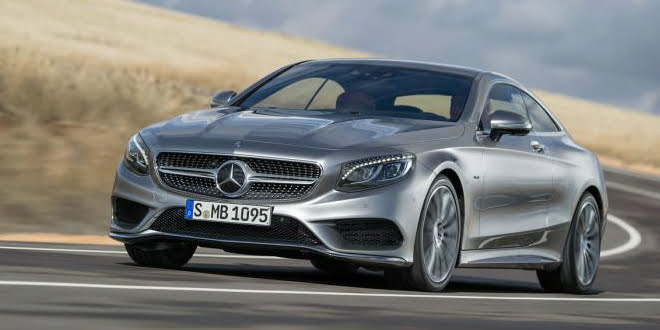 2015 Mercedes-Benz S-Class Coupe Unveiled at 2014 Geneva Motor Show