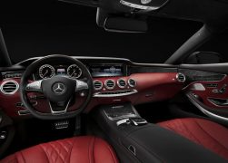 2015 Mercedes-Benz S-Class Coupe Interior Front Cabin Driver Seat View