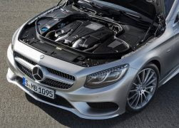 2015 Mercedes-Benz S-Class CoupeV8 Biturbo Engine