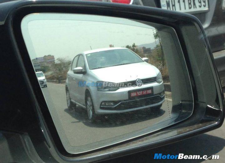 2014 Volkswagen Polo GT TDI Spy Shot