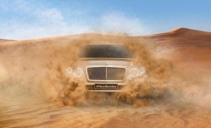 Bentley SUV Teaser Image