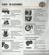 Harley-Davidson Street 750 Accessories List 1