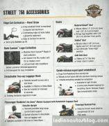 Harley-Davidson Street 750 Accessories List 3
