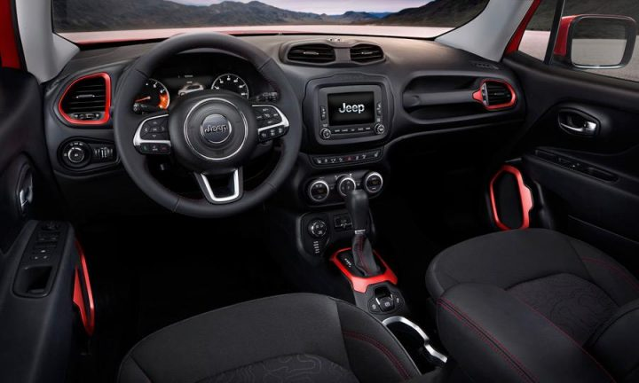 Jeep Renegade India Launch, Price, Specifications, Images 2015 Jeep Renegade Interior Front Cabin