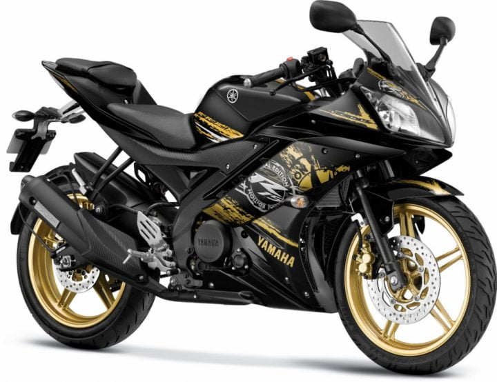 Yamaha R15-Grid-Gold