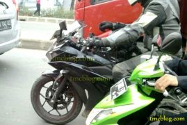 Yamaha YZF R25 Spy Shot Front Fairing Left Side