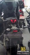 Yamaha YZF R25 Spy Shot Rear Left