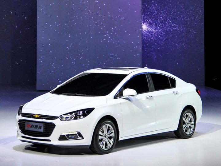 Chevrolet Cruze Facelift China