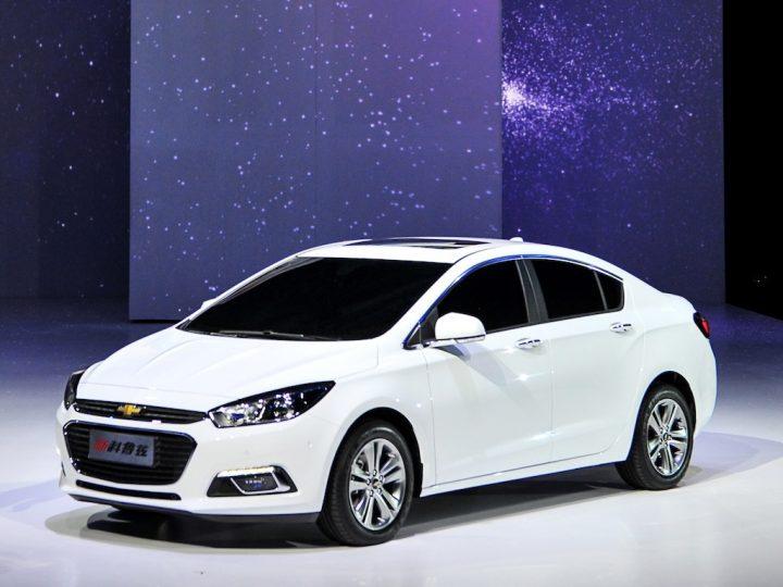 Chevrolet Cruze Facelift China
