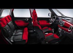 2013 Fiat 500L Interior Cabin