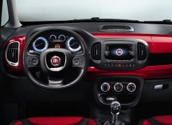 2013 Fiat 500L Interior Front Cabin Driver View