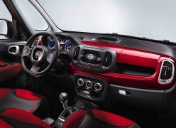 2013 Fiat 500L Interior Front Cabin Passenger View