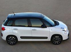 2013 Fiat 500L Right Side Profile