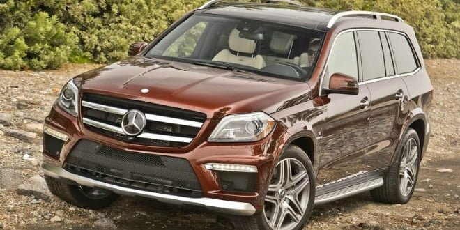 Mercedes-Benz GL63 AMG Launched