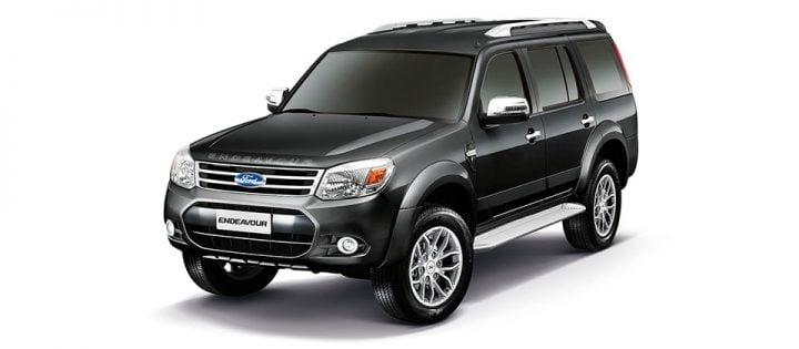 2014 Ford Endeavour Facelift Front Left Quarter