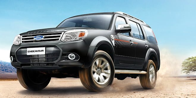 2014 Fordf Endeavour Facelift Featured Image