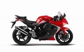 2014 Hyosung GT250R Red Titanium