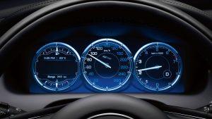 2014 Jaguar XJ Interior Instrument Cluster