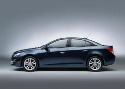 2015 Chevrolet Cruze Facelift Left Side Profile