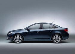 2015 Chevrolet Cruze Facelift Left Side Profile