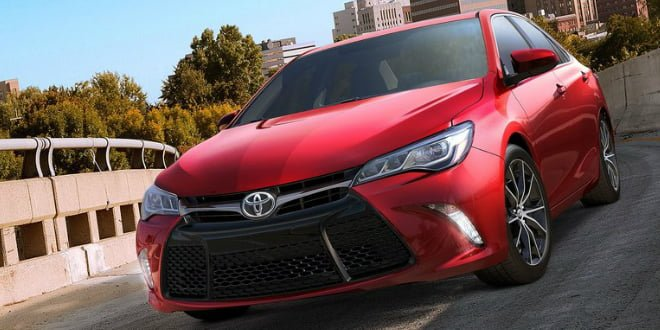 2015 Toyota Camry Showcased At The New York Auto Show