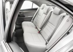 2015 Toyota Camry Interior Rear Cabin Left Side View