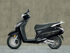 Honda Activa 125 Black Paint Option