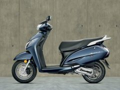 Honda Activa 125 Midnight Blue Paint Option