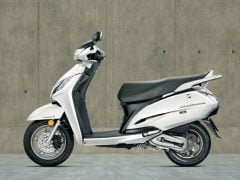 Honda Activa 125 Pearl Sunbeam White Paint Option