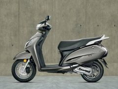 Honda Activa 125 Sword Silver Paint Option