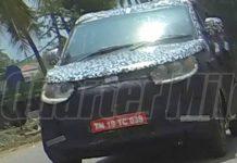 Mahindra S101 Spy Shot Featured Image