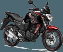 Yamaha FZ-S Pouncing Black Paint Option