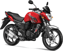 Yamaha FZ-S Preying Red Paint Option