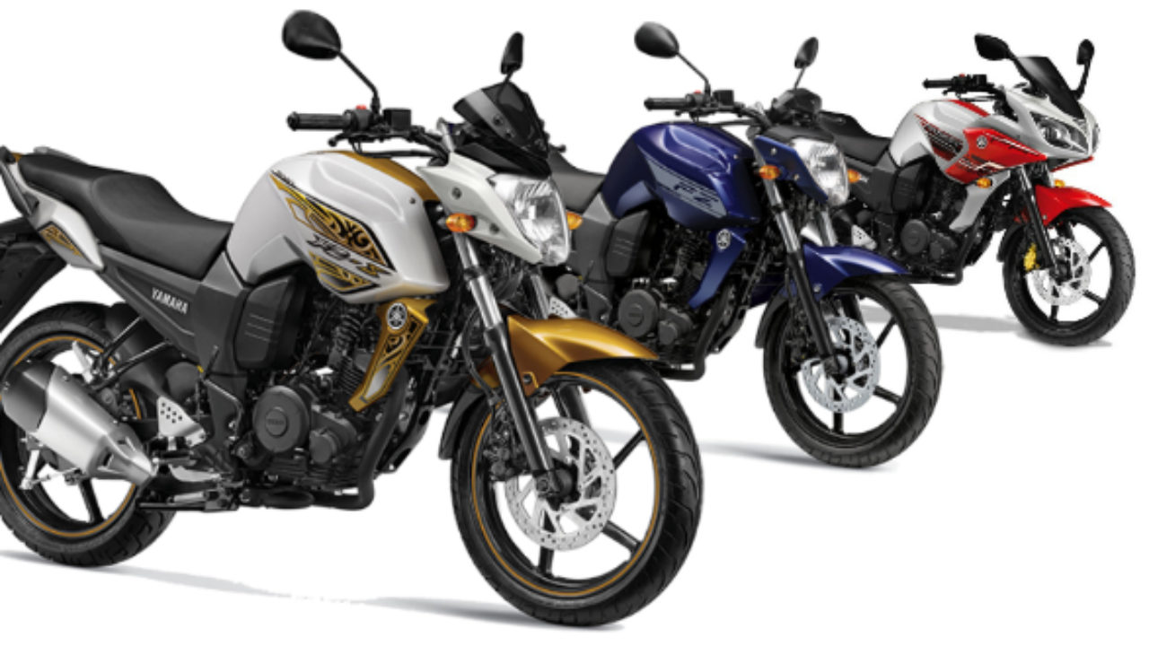 Yamaha FZ Series Of Bikes Receive New Paint Options, Again