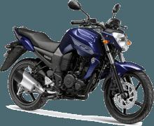 Yamaha FZ16 Ambush Blue Paint Option