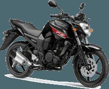 Yamaha FZ16 Panther Black Paint Option