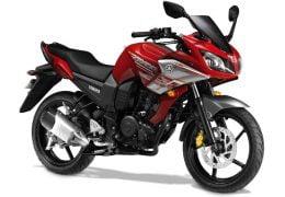 Yamaha Fazer Ravine Red Paint Option