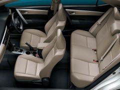 20114 Toyota Corolla Interior Cabin