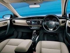 20114 Toyota Corolla Interior Front Cabin